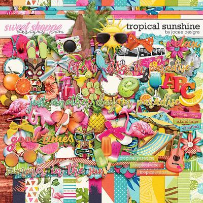 Tropical Sunshine by JoCee Designs