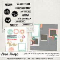 Pocket Starts: Flourish Edition Extras by Tickled Pink Studio