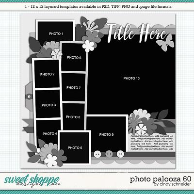 Cindy's Layered Templates - Photo Palooza 60 by Cindy Schneider