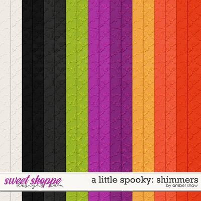A Little Spooky: Shimmers by Amber Shaw