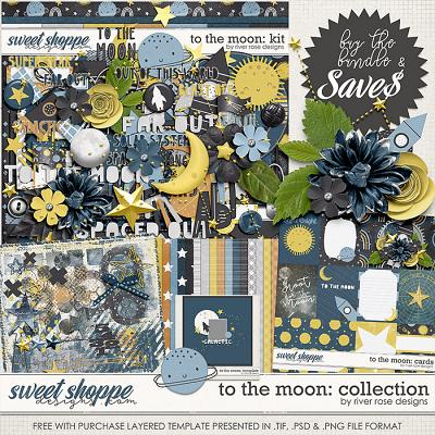 To the Moon: Collection + FWP by River Rose Designs