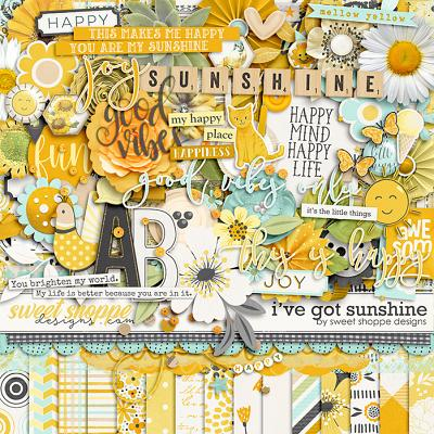 *FREE with your $15 Purchase* I've Got Sunshine by Sweet Shoppe Designs