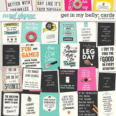 Get in my Belly: Cards by Erica Zane