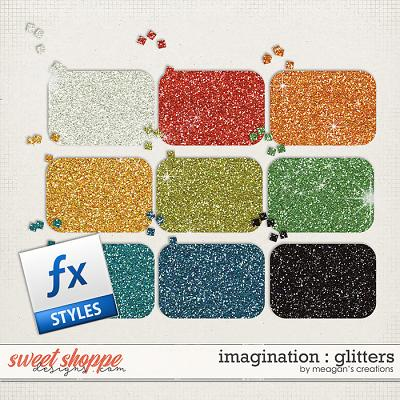 Imagination: Glitters by Meagan's Creations