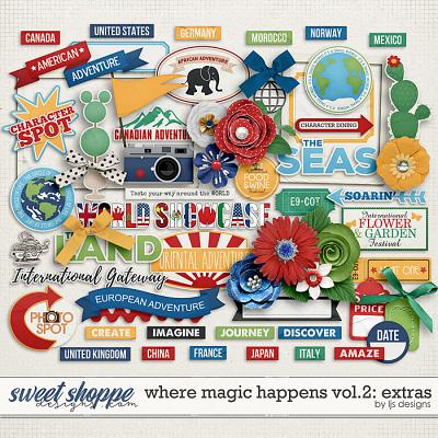 Where Magic Happens Vol. 2: Xtras by LJS Designs