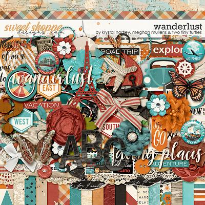 Wanderlust-Kit by Krystal Hartley, Meghan Mullens, and Two Tiny Turtles