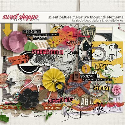 Silent Battles: Negative Thoughts - Elements by Studio Basic Designs & Rachel Jefferies