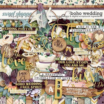Boho Wedding by Digital Scrapbook Ingredients & WendyP Designs