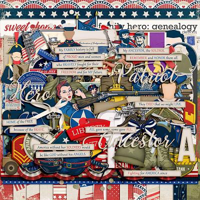 Family Hero: Genealogy by LJS Designs