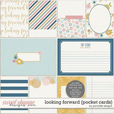 Looking Forward Pocket Cards by Ponytails
