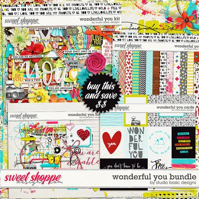 Wonderful You Bundle by Studio Basic