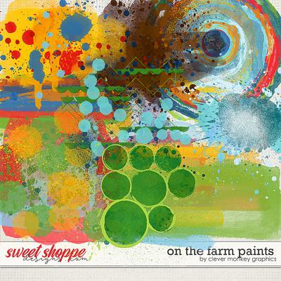 On the Farm Paints by Clever Monkey Graphics