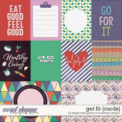 Get fit - Cards by Blagovesta & WendyP Designs