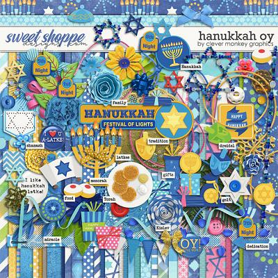Hanukkah Oy by Clever Monkey Graphics