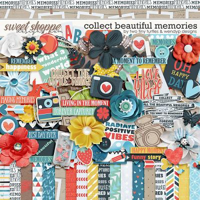 Collect Beautiful Memories :: Kit by Two Tiny Turtles & WendyP Designs