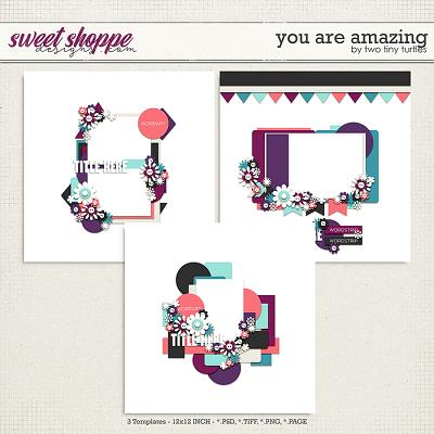 *FREE with your $10 Purchase* You Are Amazing by Two Tiny Turtles