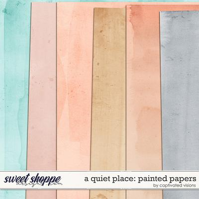 A Quiet Place: Painted Papers by Captivated Visions