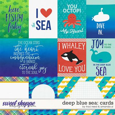 Deep Blue Sea : Cards by Traci Reed & Amanda Yi
