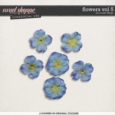 Flowers VOL 5 by Studio Flergs