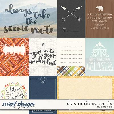 Stay Curious: Cards by Grace Lee