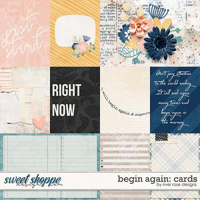 Begin Again: Cards by River Rose Designs