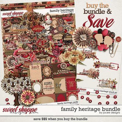 Family Heritage Bundle by JoCee Designs