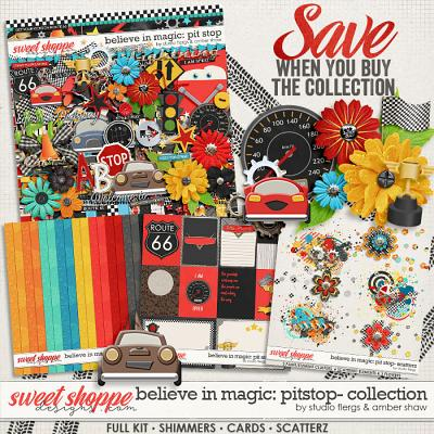 Believe in Magic: Pitstop - Collection by Amber Shaw & Studio Flergs