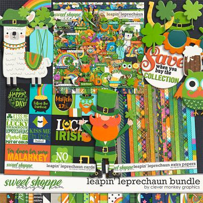 Leapn' Leprechaun Bundle by Clever Monkey Graphics