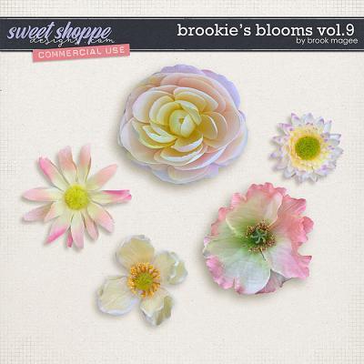 Brookie's Blooms Vol.9 - CU - by Brook Magee