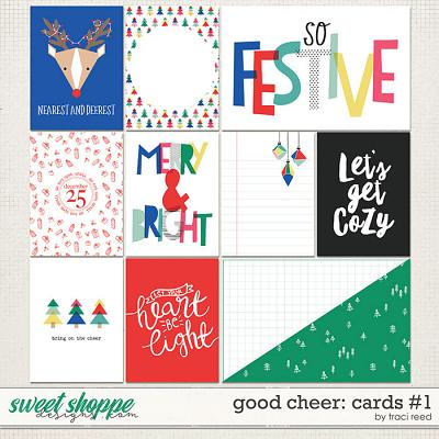 Good Cheer Journal Cards #2 by Traci Reed