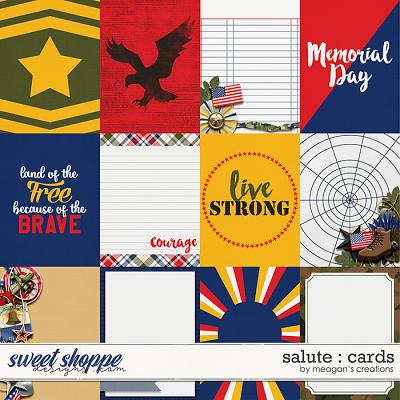 Salute : Cards by Meagan's Creations