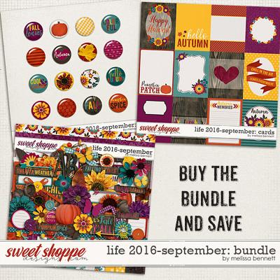 Life 2016-September Bundle by Melissa Bennett