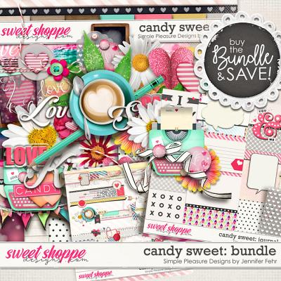 candy sweet bundle: Simple Pleasure Designs by Jennifer Fehr