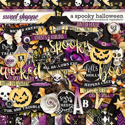 A Spooky Halloween by Digital Scrapbook Ingredients