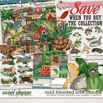 Cold Blooded Love Collection Bundle by Clever Monkey Graphics and Meagan's Creations