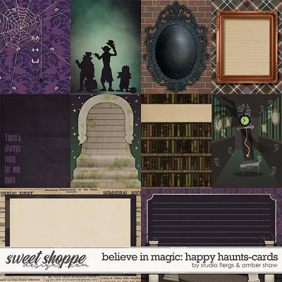 Believe in Magic: Happy Haunts Cards by Amber Shaw & Studio Flergs