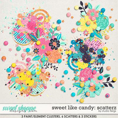 Sweet Like Candy: SCATTERZ by Studio Flergs