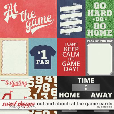 Out and About: At the Game Cards by Grace Lee