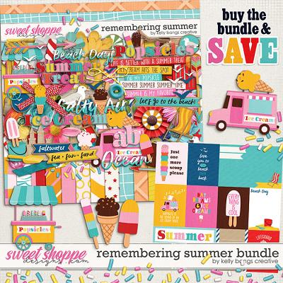 Remembering Summer Bundle by Kelly Bangs Creative