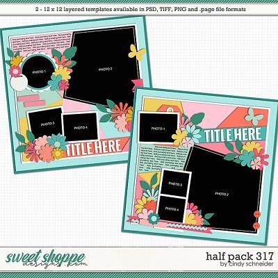 Cindy's Layered Templates - Half Pack 317 by Cindy Schneider