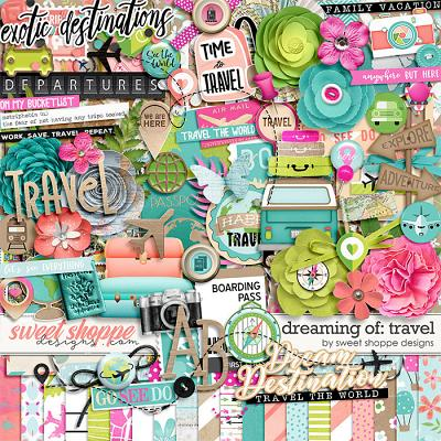 *FLASHBACK FINALE* Dreaming of... Travel by Sweet Shoppe Designs