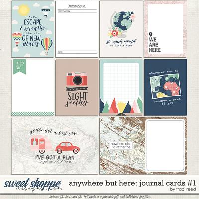 Anywhere But Here Cards #1 by Traci Reed