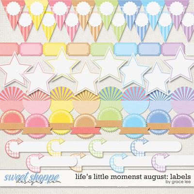 Life's Little Moments August: Labels by Grace Lee