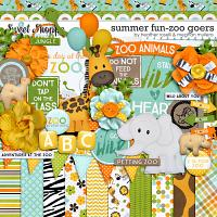 Summer Fun – Zoo Goers by Heather Roselli & Meghan Mullens