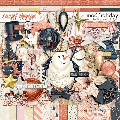 Mod Holiday by River Rose Designs