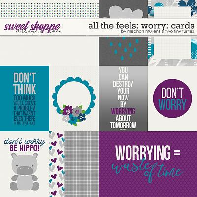 All The Feels: Worry-Cards by Two Tiny Turlles & Meghan Mullens