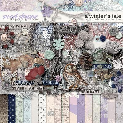 A Winter's Tale Kit by On A Whimsical Adventure