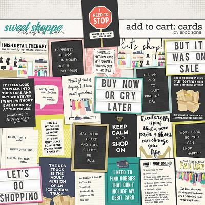 Add to Cart: Cards by Erica Zane