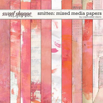 Smitten: Mixed Media papers by Captivated Visions