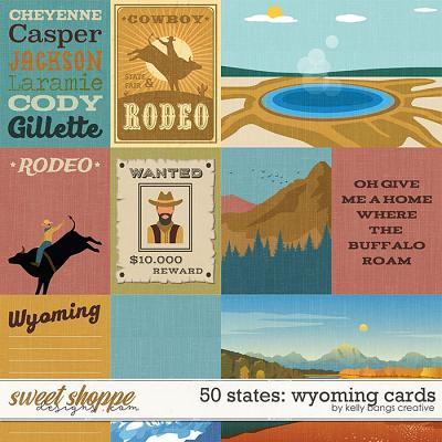 50 States: Wyoming Cards by Kelly Bangs Creative